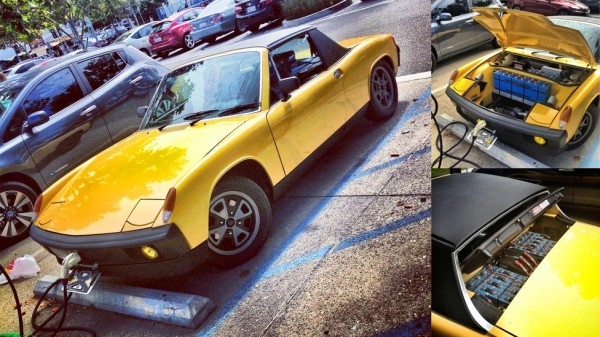 Electrified Porsche 914 Revealed