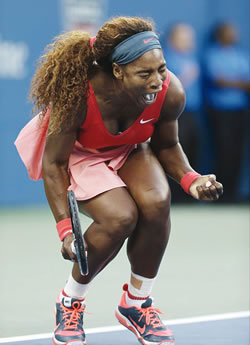 Serena Equals Federer's Record, Hails US Open Win