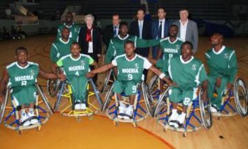 National Wheelchair Basketball Team.