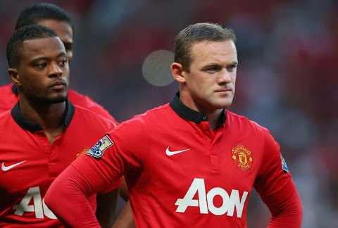 """Wayne Rooney Says Moyes has Given Him a """"New Lease of Life"""" at United."""