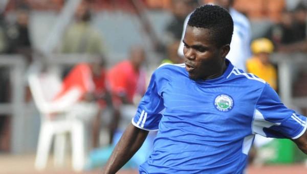 Enyimba's Andrew Abalogu.