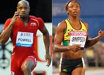 Asafa Powell and Sharonne Simpson Both Missed the Moscow World Championships for Testing Positive for a Banned Substance.