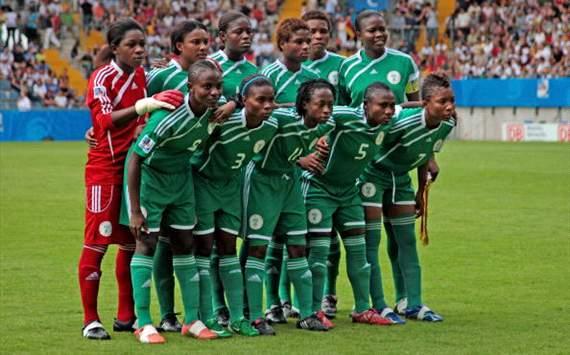Nigeria's Women Football Team.