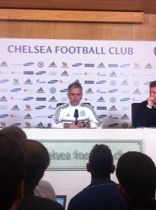 """Jose Mourinho Says """"We Will Adapt"""" to Qatar Weather."""