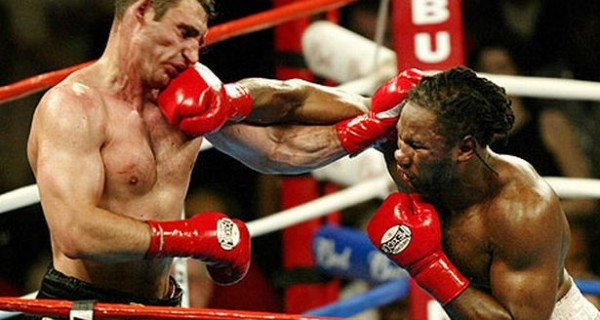 Lennox Lewis Won Vitali Klitschko on Cuts in 2003 and Retired the Following Year.