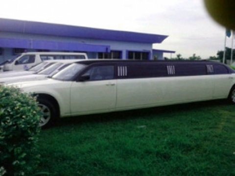 THE LIMOUSINES PARKED AT TRACON's GROUNDS IN ABUJA (PHOTO CREDIT: SAHARA REPORTERS)