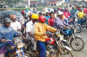 Police Arrest 25 Okada Men As They Wield Dangerous Weapons In Court Premises