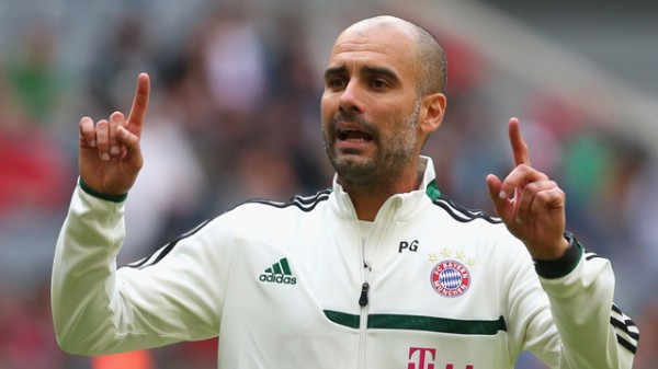 Easy Decision: Pep Guardiola Says He Knew He Would Be at at the Allianz Arena Right from the Moment They Contacted Him.