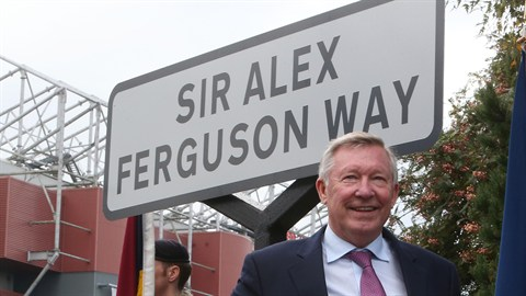 Sir Alex Ferguson, Manchester United Manager (1986-2013)