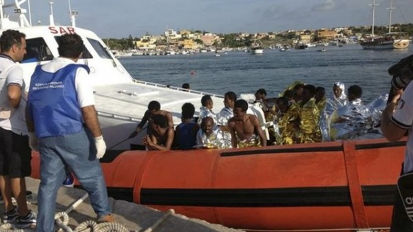 Dozens Of African Migrants Die In Boat Sinking