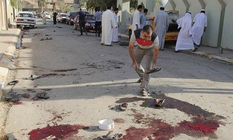 Bomb attack in Kirkuk, Iraq