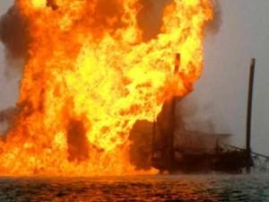 file photo: gas plant fire