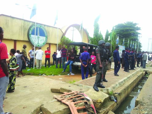 OBIO/AKPOR LOCAL GOVERNMENT COUNCIL OCCUPIED BY SECURITY OPERATIVES