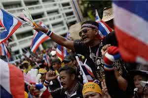 Defiant Thai Protesters Besiege More Ministries Despite Government Clampdown