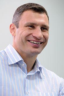 Vitali Klitschko, Running for Ukraine's Presidency in 2015.