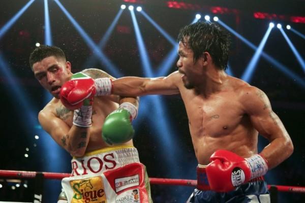 Pacquaio Beats Rios in China.