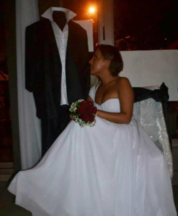 HARROWING STORY: Woman Marries Dummy As Her Boyfriend Dies Days Before Wedding