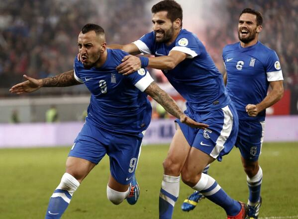 1-1 Draw in Romania Helped Greece Reach Brazil 2014 on 4-2 Aggregate.