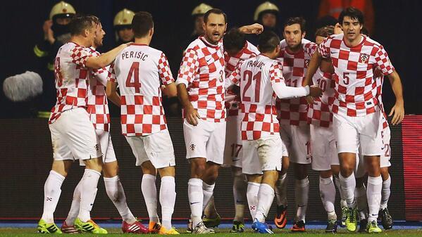 Croatia Celebrates Victory Over Iceland in Zagreb.
