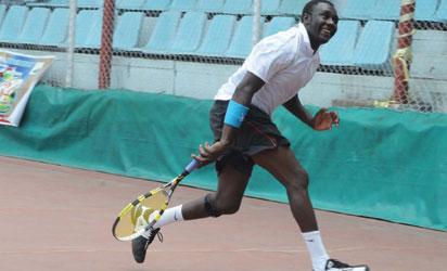 A Nigerian Tennis Player.