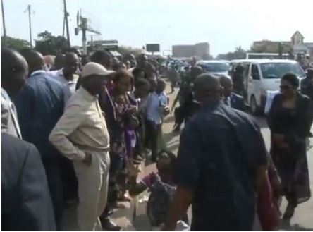 THE HELPLESS WIDOW PLEADING FOR MERCY FROM GOV. ADAMS OSHIOMHOLE