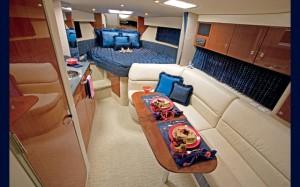 Gulfstream jet G650 model interior