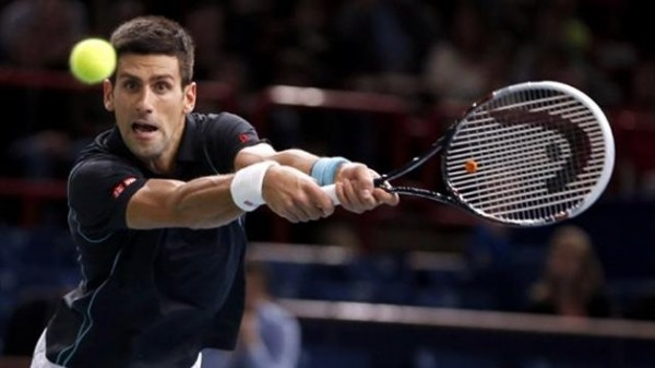 Getty Image: Novak Djokovic Sets Sights on a Second Paris Masters Title.