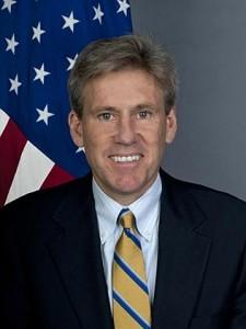 US Ambassador to Libya J. Christopher Stevens was killed in the attack. Source: AP