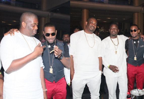 Don Jazzy And D'banj Hang-out At Ice Prince's Show