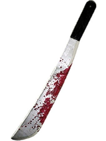 machete blood