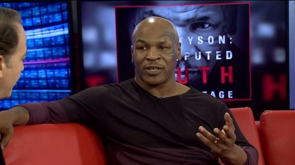 Mike Tyson Interviewed on Fox 59 Morning News.