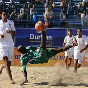 Super Sand  Eagles Face Germany for the First Time on Friday.