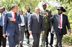 African leaders in S Sudan