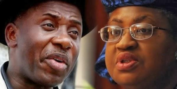 Amaechi and Ngozi Okonjo Iweala