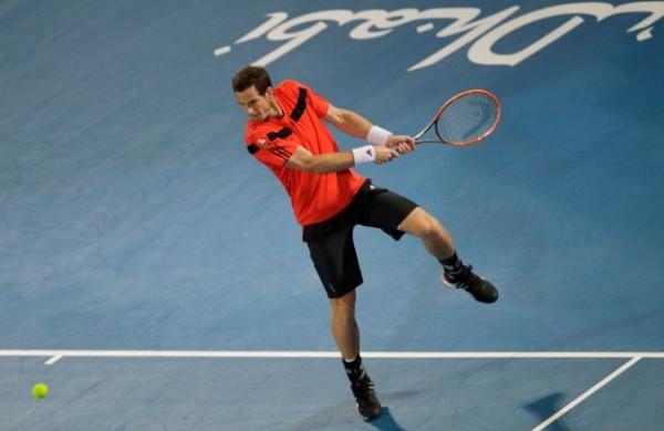 Andy Murray at the Mubadala Tennis Championship.