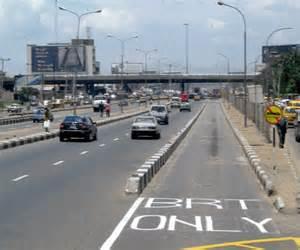 file: BRT lane in Lagos