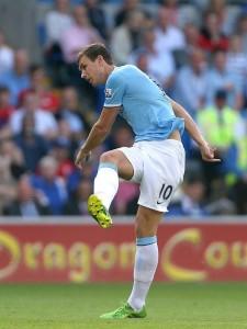 Edin Dzeko Finished the 2011/12 Season (When City Won the League) as the Second Highest Manchester City Goal Scorer Behind Aguero.