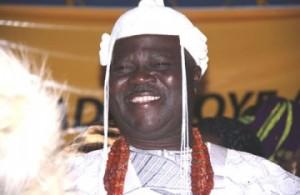 Deceased Deji of Akure, Oba Adebiyi Adesida