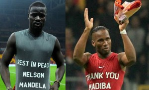 Mandela Tribute: Turkish Sports Minister Slams Football Federation Over Moves To Punish Drogba, Eboue