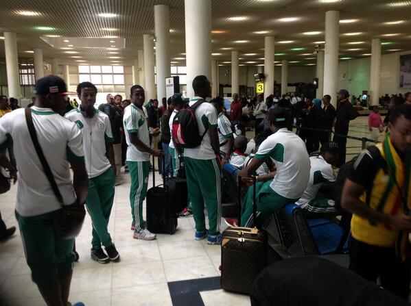 Super Eagles Has Lost the Right to Appeal for Wage Increases in Camp.