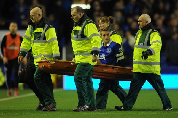 Gerard Deulofeu Suffered a Torn Hamstring in Saturday's 4-1 Win Over Fulham at Goodison Park.