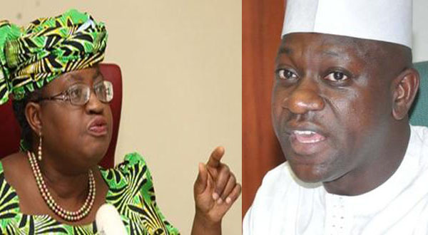 NGOZI OKONJO-IWEALA AND HOUSE COMMITTEE CHAIRMAN ON FINANCE, ABDULMUMINI JIBRIN