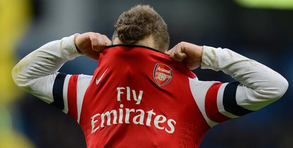 Wilshere Disappointed After Arsenal Were Thrashed at the Etihad.