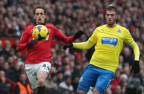 Januzaj Shone in the Midfield for United.