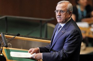 Lebanese President, Michel Suleiman