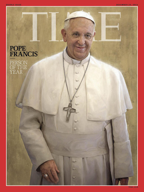 Pope Time Person