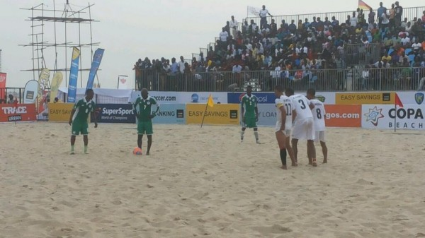 Nigeria Rounds Off their 2013 Copa Lagos Campaign Against Senegal.