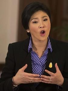 Thai PM, Yingluck Shinawatra