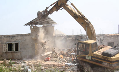 DEMOLITION: 91-Year-Old Chief Rendered Homeless