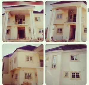 Amebor Pays: Lind Ikeji Surprises Parents With Mansion For Christmas